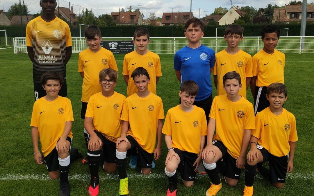 Match de préparation U13A USG (a) – ES Normanville 3 – 2